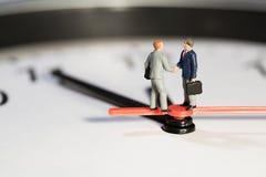 Meeting The Deadline Macro Royalty Free Stock Image
