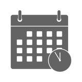 Meeting Deadlines icon Royalty Free Stock Photos