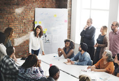 Meeting Discussion Talking Sharing Ideas Concept Royalty Free Stock Photos