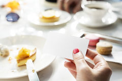 Meeting Eating Dessert Coffee Tea Break Concept Royalty Free Stock Photo