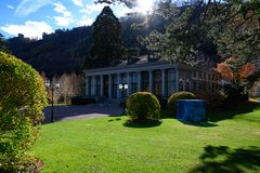 Meeting and Event Center Bad Ragaz, Switzerland. Elegant Kurhall, Eventhall Bad Ragaz, Switzerland royalty free stock photo