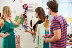 Meeting In Fashion Design Studio Stock Image