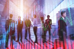 Meeting, finance and success concept Stock Photography