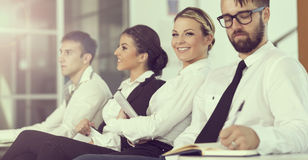 On a meeting Stock Image