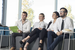 On a meeting Stock Photography