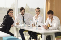 On a meeting Royalty Free Stock Image