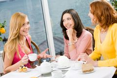 Meeting of friends Royalty Free Stock Photography