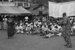 MEETING OF THE FRONT OF REFUSAL IVORY COAST Royalty Free Stock Image