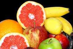 Meeting fruit. Royalty Free Stock Photography