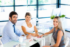 Meeting of great creative minds Royalty Free Stock Image
