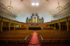 Meeting Hall at Mormon Temple Square in Salt Lake City Royalty Free Stock Photo