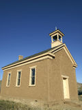 Meeting House. An old meeting house in a rural western community Royalty Free Stock Photo