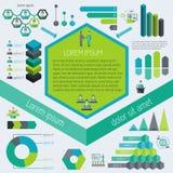 Meeting infographic elements Stock Photos