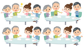 Meeting lecture 2 generation_1 Royalty Free Stock Photo
