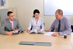 Free Meeting Making And Presentation Royalty Free Stock Images - 7405559