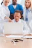 Meeting of medical experts. Stock Photos