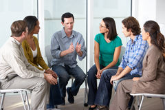 Free Meeting Of Support Group Royalty Free Stock Photo - 31168365