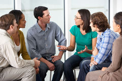 Free Meeting Of Support Group Royalty Free Stock Photos - 31168458