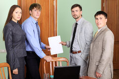 Meeting in the office Royalty Free Stock Photography