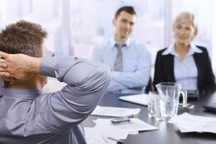 Meeting in office Stock Photography