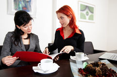 Meeting in the office Royalty Free Stock Photos