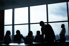 Meeting in office Royalty Free Stock Photo
