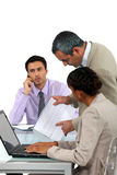 Meeting in the office Royalty Free Stock Photo