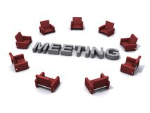 Meeting place Stock Photo