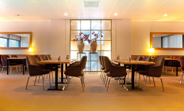 Meeting  place in restaurant Stock Photo