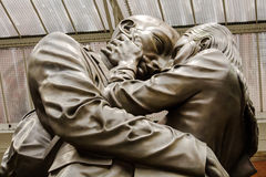 The Meeting Place Statue Stock Photography