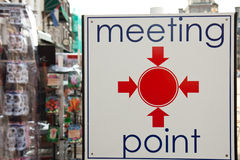 Meeting point Stock Photos