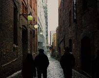 Post alley crew royalty free stock photography