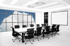 Meeting room. With modern decoration Stock Photography