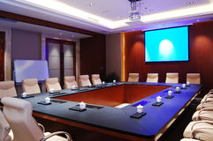Meeting room. With modern decoration