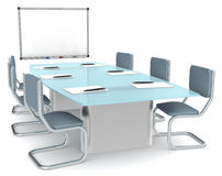 Meeting Room royalty free illustration