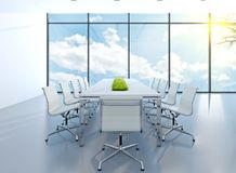 Meeting room stock illustration