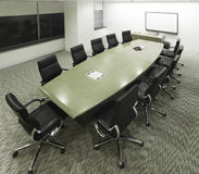 Meeting room. A meeting room from above Stock Photography