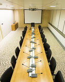 Meeting room. A meeting room from above Royalty Free Stock Images