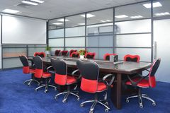 Meeting room. With modern decoration Stock Photo