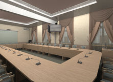 The meeting room. Stock Image