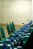 Meeting room. At hotel banquet royalty free stock image