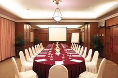 Meeting room. Empty meeting room for multiple usages Royalty Free Stock Photos
