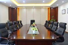 Meeting room. Big meeting room with modern decoration Stock Photo