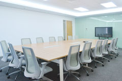 Meeting room. Big meeting room with modern decoration Royalty Free Stock Images