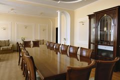 Meeting room for business Royalty Free Stock Photo