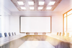 Meeting room in contemporary company Royalty Free Stock Image