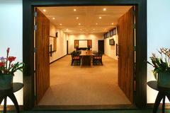 Meeting room entrance Stock Image