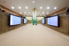Meeting room in Federal State Statistics Service of Russia Stock Photo