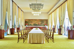 Meeting room in Independence Palace Royalty Free Stock Images