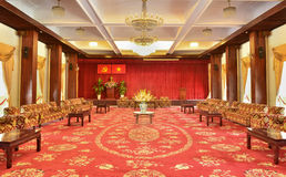 Meeting room in Independence Palace Stock Photo